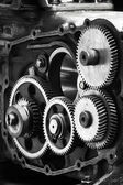 Gears vertical — Foto Stock