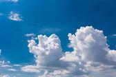 Zamračená obloha pozadí — Stock fotografie