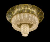 Beautiful chandelier isolated  — 图库照片