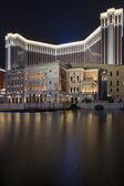 MACAU,CHINA - OCTOBER 16,2014:Venetian Hotel is the famous shopp — Stock Photo