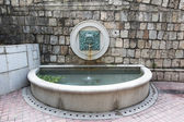 MACAU, MACAU - OCTOBER 15, 2014 - Water fountain and spout at Li — Stock Photo