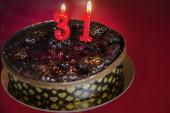 Pastel de cumpleaños — Foto de Stock
