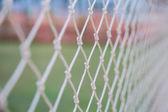 Futbol gol ağlar — Stok fotoğraf