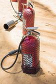 Fire extinguishing tank — Stok fotoğraf