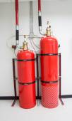 Fire extinguishing system — Stock Photo
