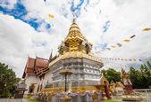 Wat Phrathat Doi Saket Temple, Chiang Mai Province, Thailand — 图库照片