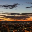 Sunrise and city with beautiful sky at twilight time — Stock Photo #55127495