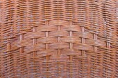Bamboo basketry background — Stock Photo