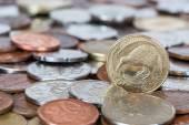 Nowa zelandia monet — Zdjęcie stockowe