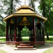 Chinese gazebo in the woods — Stock Photo #55163461