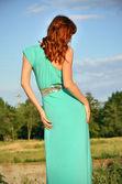 Woman, rear view — Foto de Stock