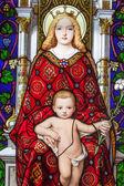 Madonna ve çocukmadonna y el niño — Stok fotoğraf