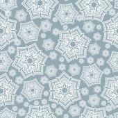 Christmas winter seamless pattern snowflake, — Stock Vector