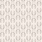 Seamless pattern. Vertical strips of vegetable and floral elements. Shades of beige — Stock Vector