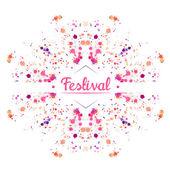 Festival background — Stock Vector