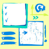 Checklist and symbol — Stockvektor