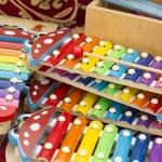 Xylophones made of wood — Stock Photo #55859611