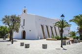 Church in Es Cubells, Ibiza, Spain — Stock Photo