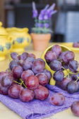 Bunch of grapes ready to eat — Stock Photo