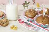 Whole muffins — Stock Photo