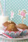 Muffin intero — Foto Stock