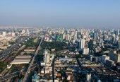 Views of Bangkok Baiyoke Sky — Foto Stock