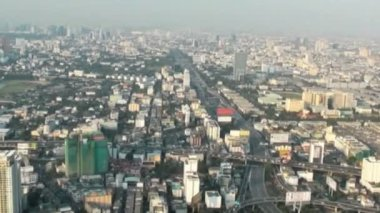View of  Bahgkok from the height — Vídeo de Stock