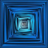 Geometric optical illusion — Stock Vector