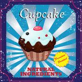 Cakes label — Stock Vector