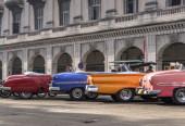 Cuba cars — Stock Photo