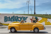 Cuban revolution wall painting — Stock Photo