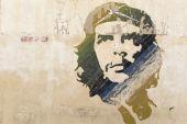 Che Guevara wall painting — Stock Photo