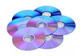 Discs DVD new — Foto Stock