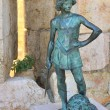The statue of a young king David — Stock Photo #59700163