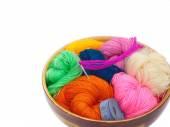 Hilo para tejer — Foto de Stock