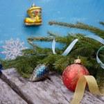 Christmas toys — Stock Photo #60819029
