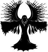 Engel van oorlog — Stockvector