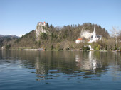 Lake Bled — Stock Photo