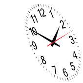 Clock time vector — Stok Vektör