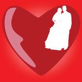 Wedding icon vector illustration — Stock Vector