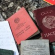 Passports of former Soviet Union — Stock Photo #67082985