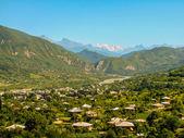 Georgia, Racha panorama — Stock Photo