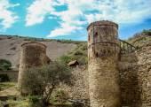 Mosteiro de david gareja complexo — Fotografia Stock