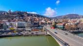 Tbilisi city under blue sky — Stock Photo