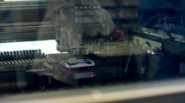 Machine automatisée au travail — Vidéo