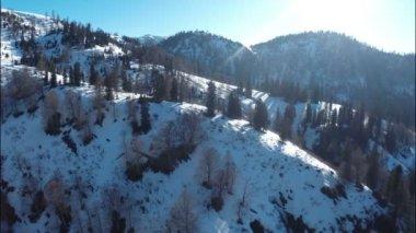 Highest alpine climatic resort — Vídeo stock