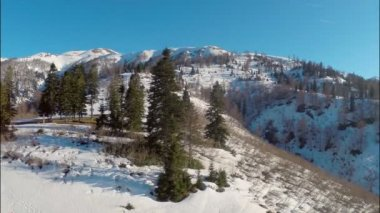 Highest alpine climatic resort — Stock Video