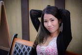красивая азиатская женщина — Стоковое фото