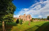 Melrose Abbey — Stock Photo