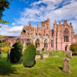 Melrose Abbey — Stock Photo #68609391